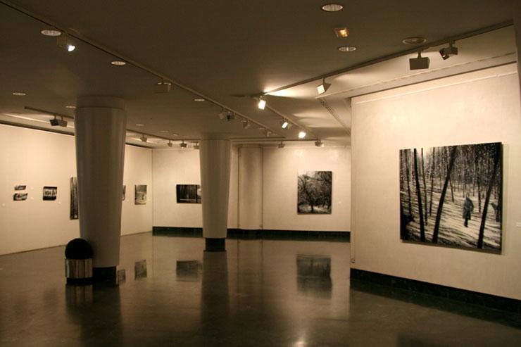 Exhibition Hall. Caja Rural de Huelva. 2008