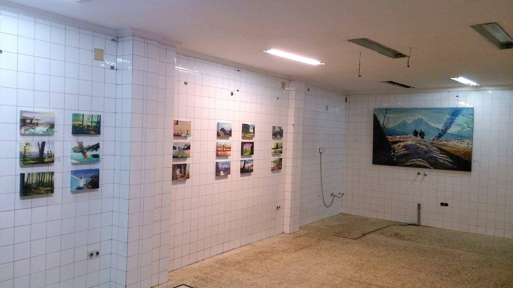 Pop Up Gallery. Seville, 2013. Commissioned by Elena Caranca and Isabel Ignacio.