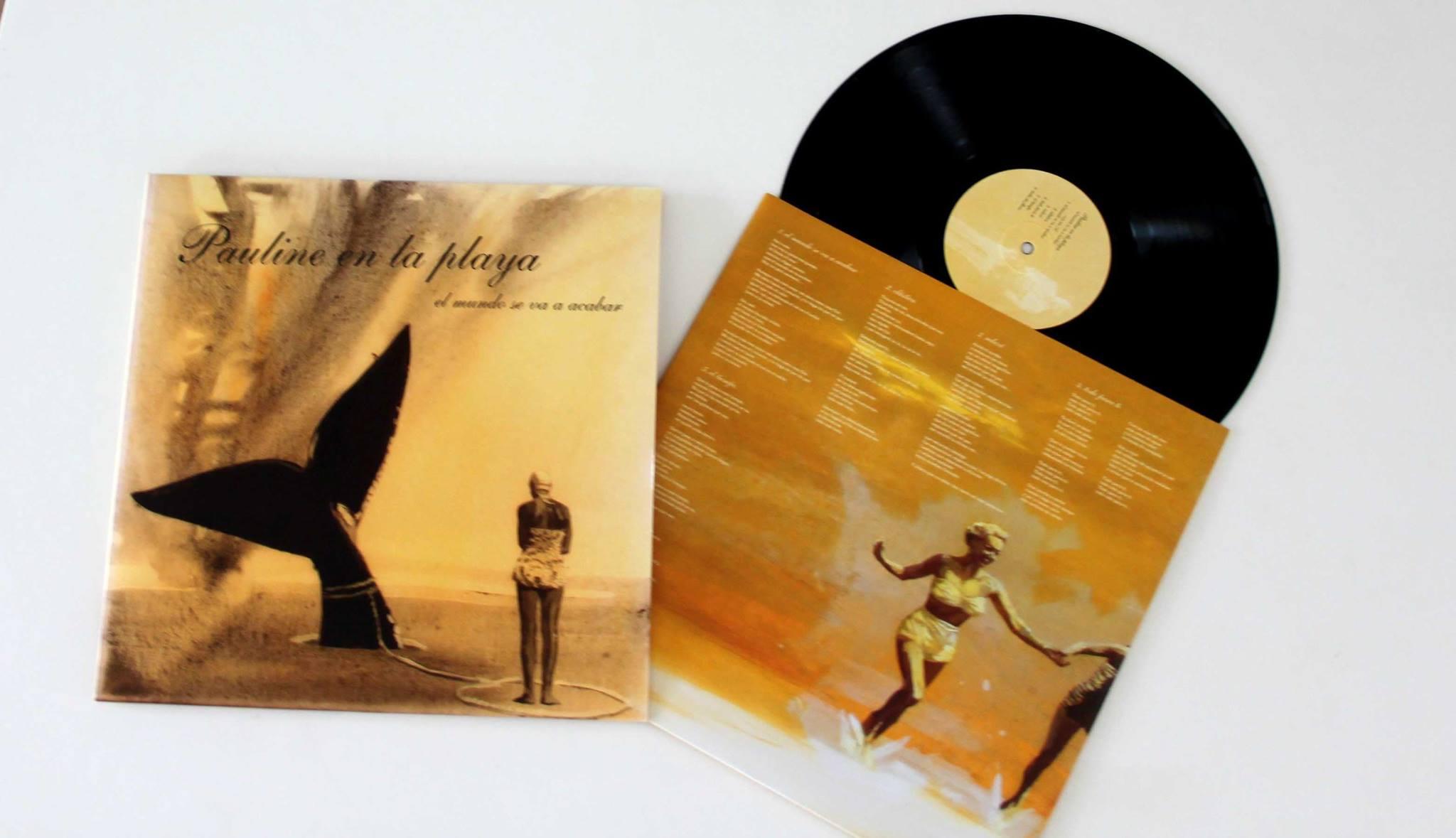 'Pauline en la playa' new album cover