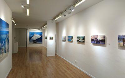 Exposición 'El filibustero', en la galería Víctor Lope de Barcelona
