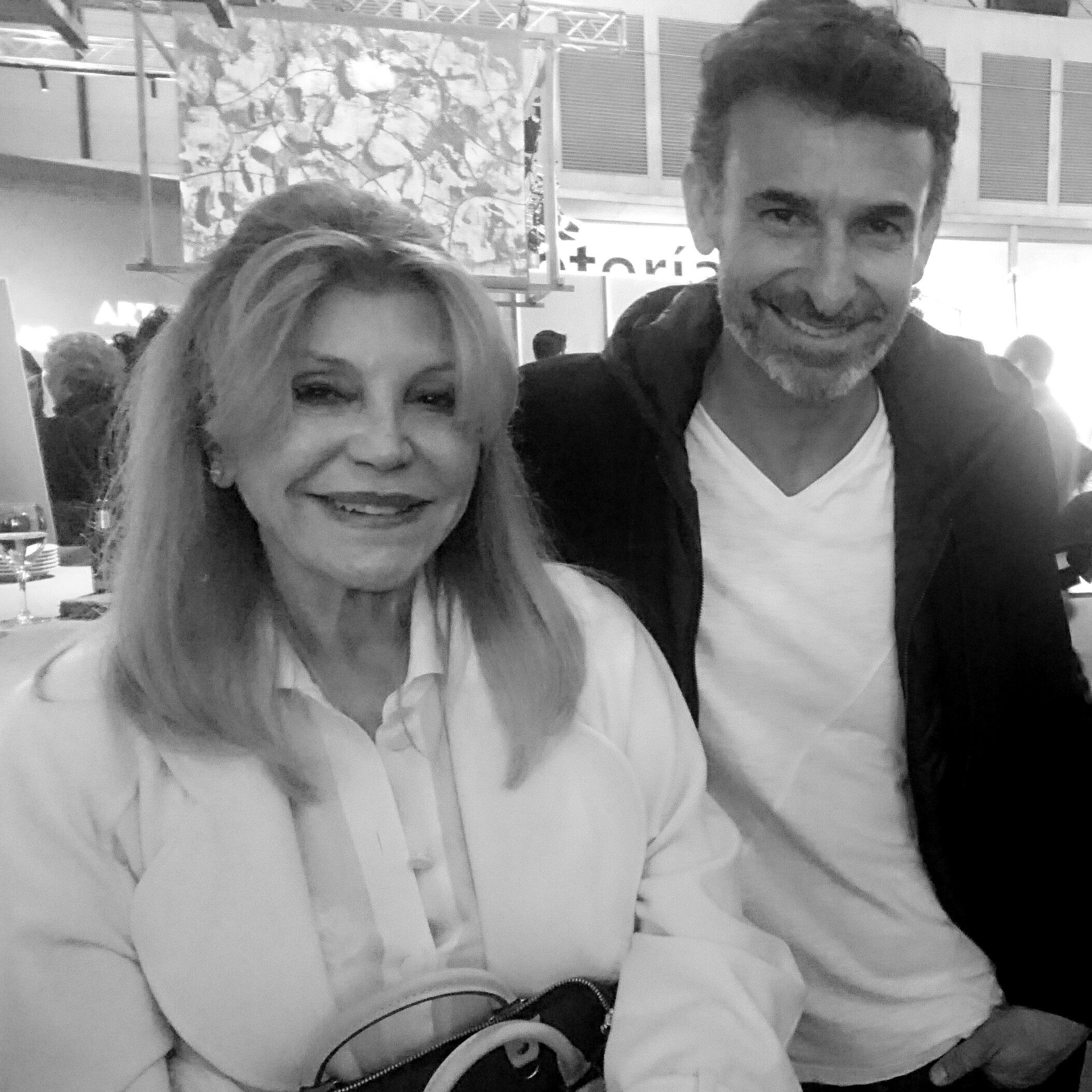 Con la Baronesa Thyssen, ARCO 2109
